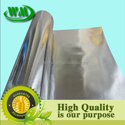 Single side aluminum foil laminating woven fabric,thermal insulation fabric,heat insulation material,metallized film