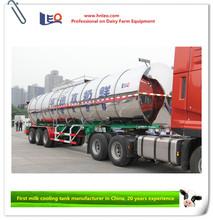 8-40 T milk transport tank truck