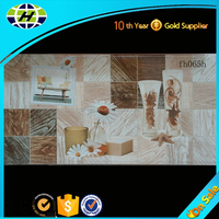 Fujian factory digital inkjec bathroom 300x600mm wall tile cheap sale