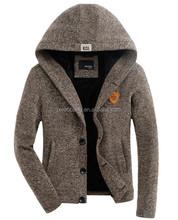 Man Cardigan man sweater sweater with buttom custom hoodies