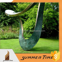 modern art Bronze sculpture for park decoration