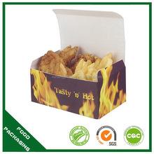 Useful best sell hot dog box paper hamburger boxes