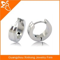 stanless steel earring covering the ear,pictures of fashion earring,hoop huggie earring piercing