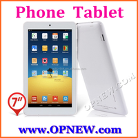 """Opnew new arrival 7"""" phablet GSM phone tablet pc MTK 6582 phone mini pc 4 bands 3G calling"""