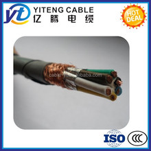 Braid Shielding and PVC Insulation Material electrical cable computer cable control cable