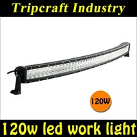4*4 Car Accessories 22 Inch 120w Dual Rows Curved Led Light for SUV ATV Truck Offroad Boat
