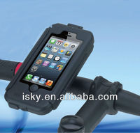 Heavy Duty Weather / Shock Proof Bike Mount Holder Hard Case for Apple iPhone 5 5th Generation Verizon / AT&T / Sprint Version