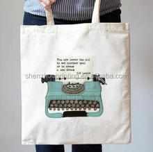 HOT! New Arrival printed mens canvas tote bags