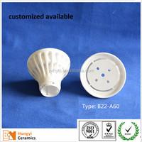 220v led 5w light shade alumina ceramic lamp holder