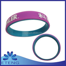 2015 Calendar snow globe silicone wristband from handicraft for any prom dress