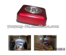 Portable peel and stick led light / 3 led touch light/stick on wall led light