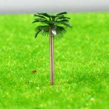 model palm copper tree /model accessories/ HO scale tree S68-400