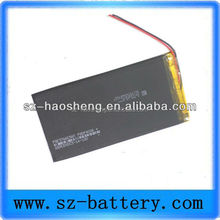 Hot sale 4000 mAH Li po battery with leading wire 3.7V