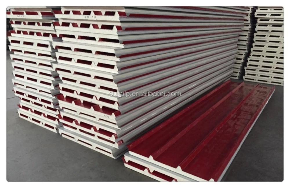Polyurethane Sandwich Panel : High quality pu sandwich panel for wall roof buy