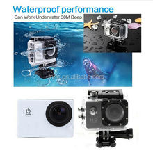 BLUE1080P 1.3M Full HD Waterproof Action Sports Helmet Camera Cam DV NEW