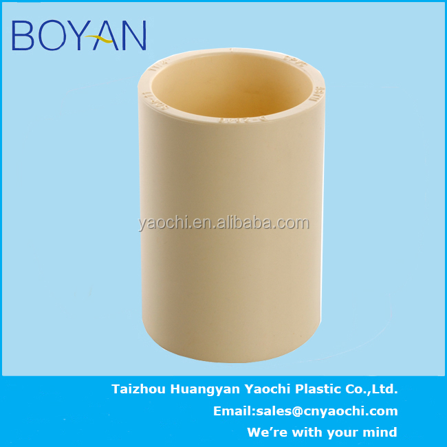 Boyan hot water cpvc astm2846 plastic pipe fitting equal for Cpvc hot water