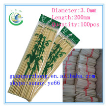 Custom Made bamboo product wholesale for BBQ sticks