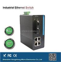 Dynamic MAC address network gigabit 4 port industrial switch