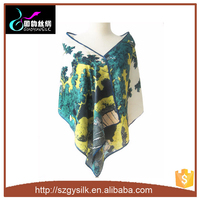 fashion japanese silk scarf