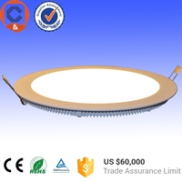 IP40 die-casting downlight flat 6w ultra thin led panel light 12V with 20w solar light