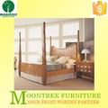 Moontree MBD-1145 Top qualidade teca sólidos cama de madeira