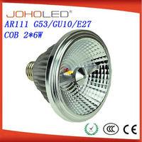 ar111 led spotlighting 9w factory direct sale g53 GU10 E27 for option