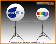 outdoor PVC inflatable pole light led decoration balloon