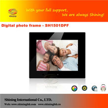 Wholesale 15 inch digital photo frame manufacture, 15 inch bulk digital photo frame manufacture