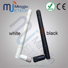 free sample SMA/RP-SMA male connector wlan rubber wireless 2.4ghz wifi antenna