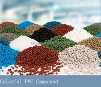 Flame retardant extrusion granulated pvc compound for cable jacket