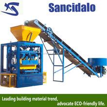 small construction equipment QT4-24 brick making machine
