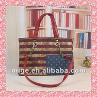 2012 Lady Star Strip Handbags (ZTH011)