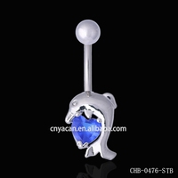 Indian Body Piercing Jewelry Belly Navel Ring