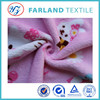pink hello kity pattern coral fleece pajamas fabric chinese clothing fabric manufacturers