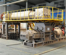Double stage vacuum extruder automatic tunnel kiln car
