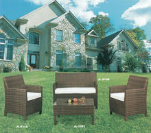 Popular leisure garden PE rattan outdoor furniture With matel frame JL811A