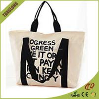 All-match canvas tote bag Customizable Pattern Canvas bag Leisure shopping bag