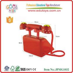 Wooden Children Phone Toys Mother Garden In Furniture Toys