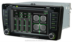 Audiosources Car Multimedia System GPS SKODA OCTAVIA 2012 2013