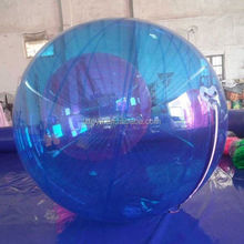 water bounce ball , LZ-W988 small size pvc inflatable water ball for water games