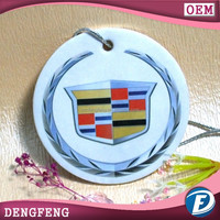 cheap paper promotional air freshener with scented for hom and car
