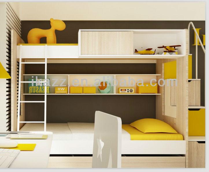 Lit superpos enfants ensemble de chambre d 39 enfants for Ensemble de meuble pour chambre