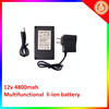Deep Cycle Lithium ion Storage Battery Solar Use 12V 4800mah for LED lights factory