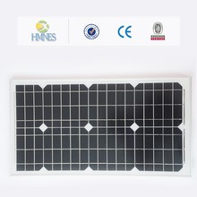 Hot sale 30W 130w panel solar monocrystalline manufactures in China with full certificates