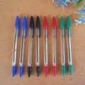 caneta esferográfica de plástico bola ponto caneta