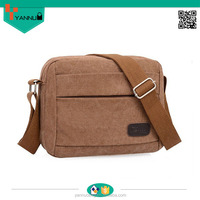 alibaba china religious fashionable retro style canvas casual messenger bags for men in new design