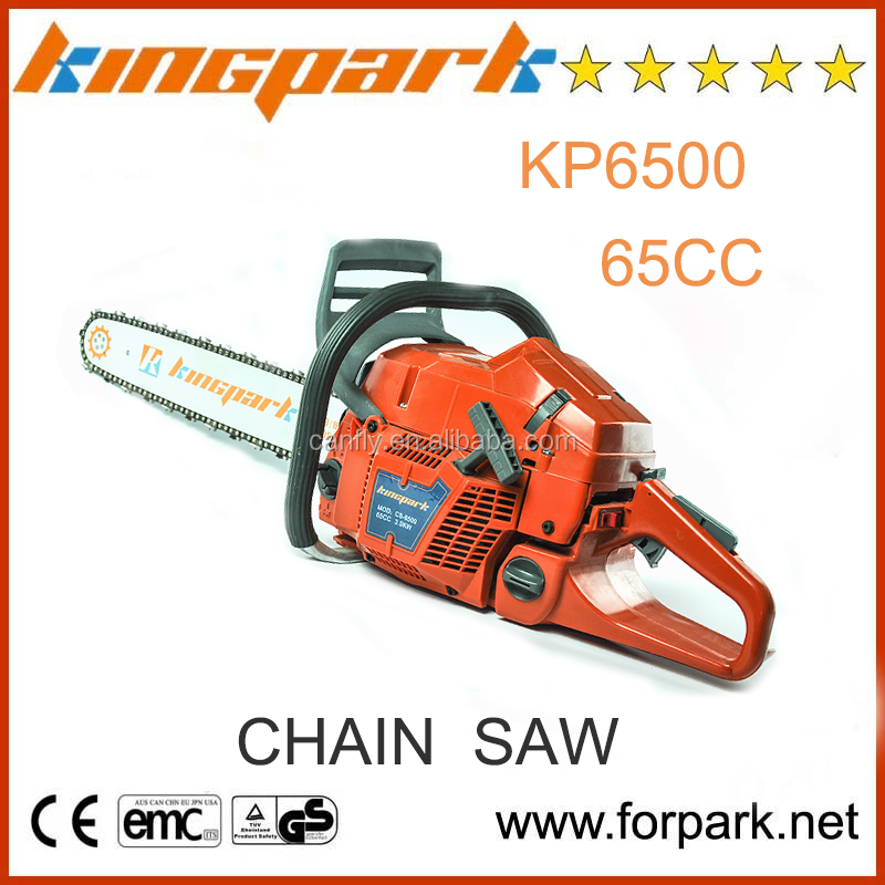 Good guality and cheap garden tools 65cc petrol chainsaw for Affordable garden tools