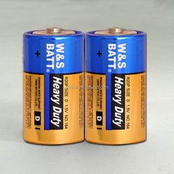 r20p, d, um-1 Mercury Free Carbon Zinc Battery ( Heavy Duty Battery , Aluminium/PVC Jacket))