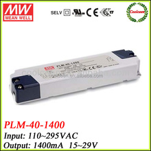 Meanwell PLM-40-1400 1400ma led driver transformer