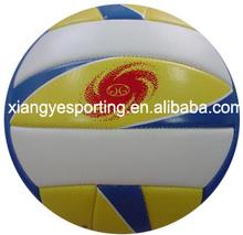high foam leather machine stitched mini volleyball ball
